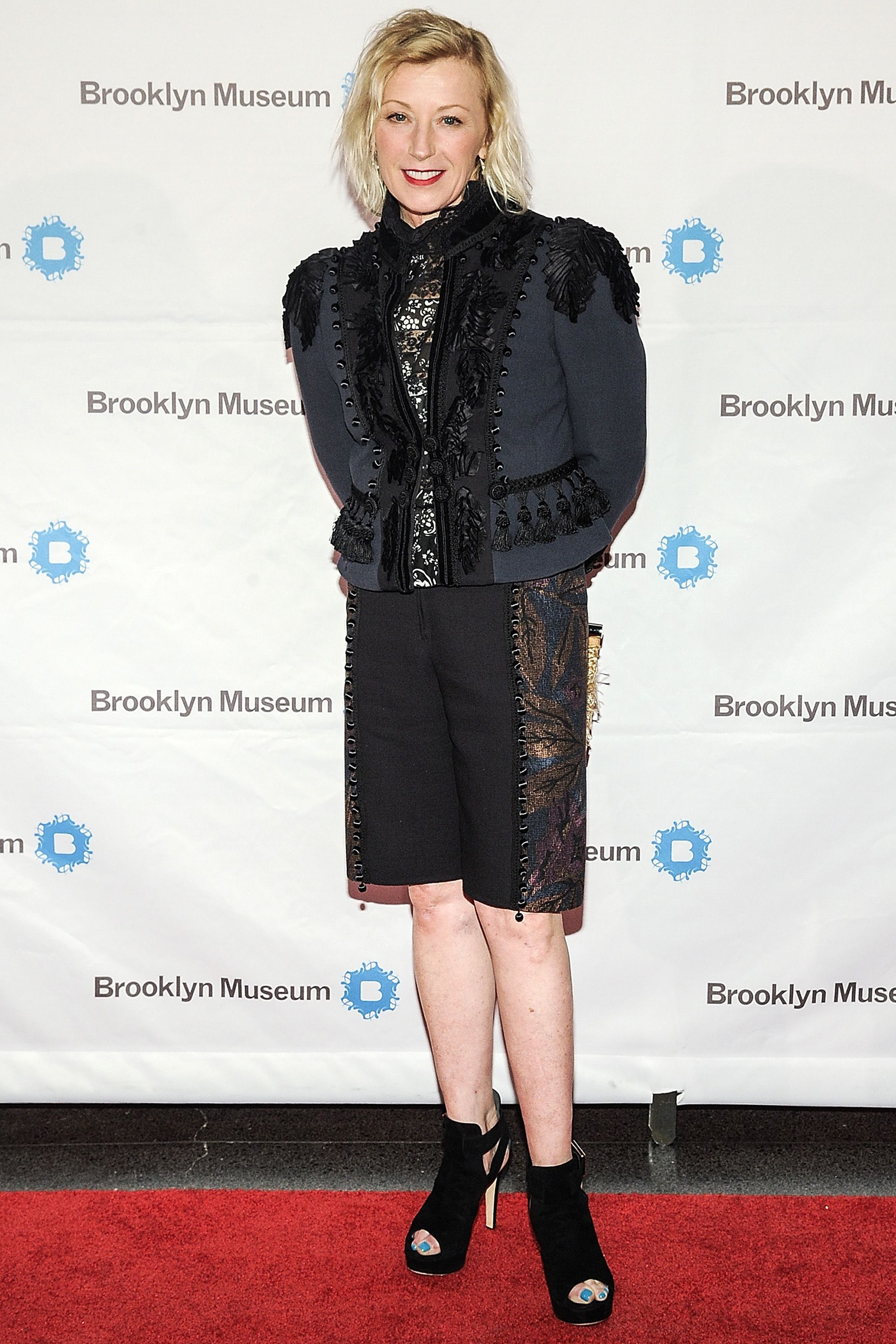 NEW YORK, NY - APRIL 15:  Cindy Sherman attends the 5th Annual Brooklyn Artists Ball at Brooklyn Museum on April 15, 2015 in New York City.  (Photo by Daniel Zuchnik/WireImage)