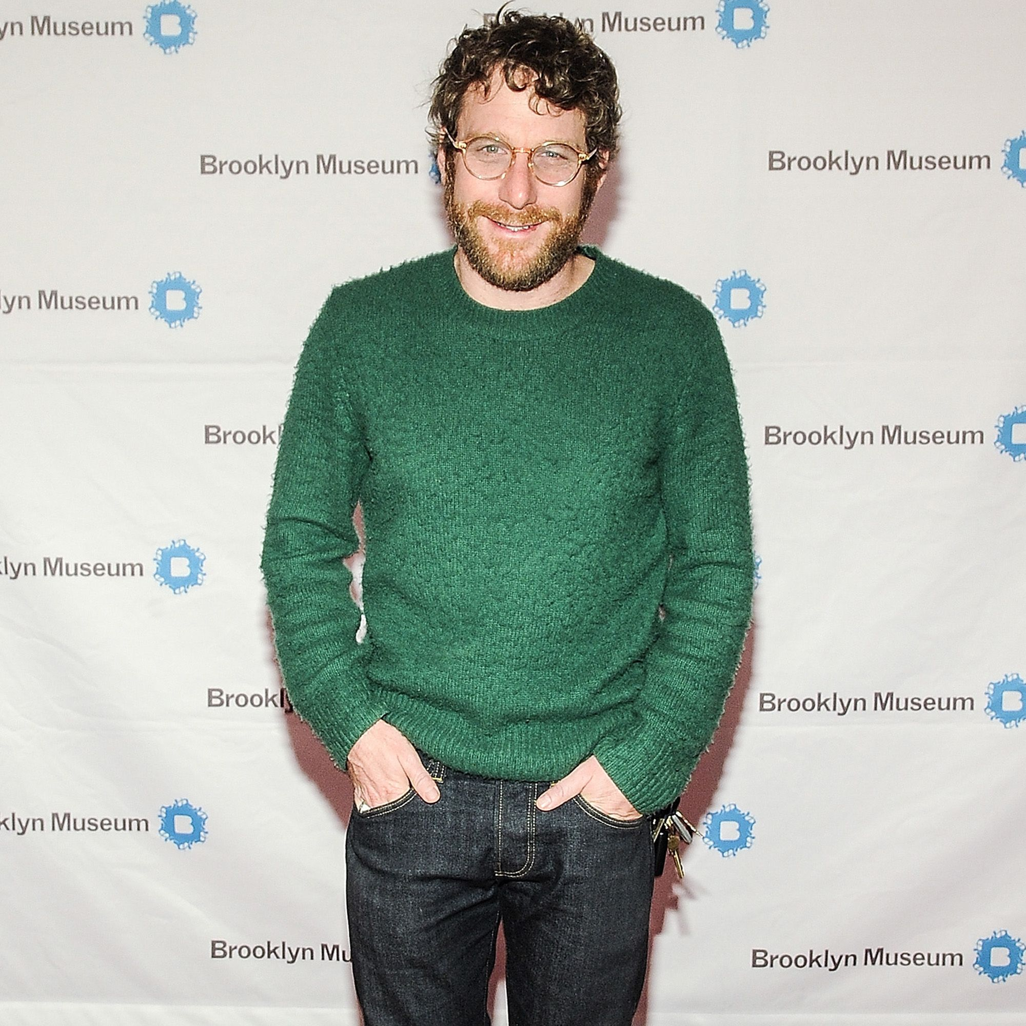 NEW YORK, NY - APRIL 15:  Dustin Yellin attends the 5th Annual Brooklyn Artists Ball at Brooklyn Museum on April 15, 2015 in New York City.  (Photo by Daniel Zuchnik/WireImage)
