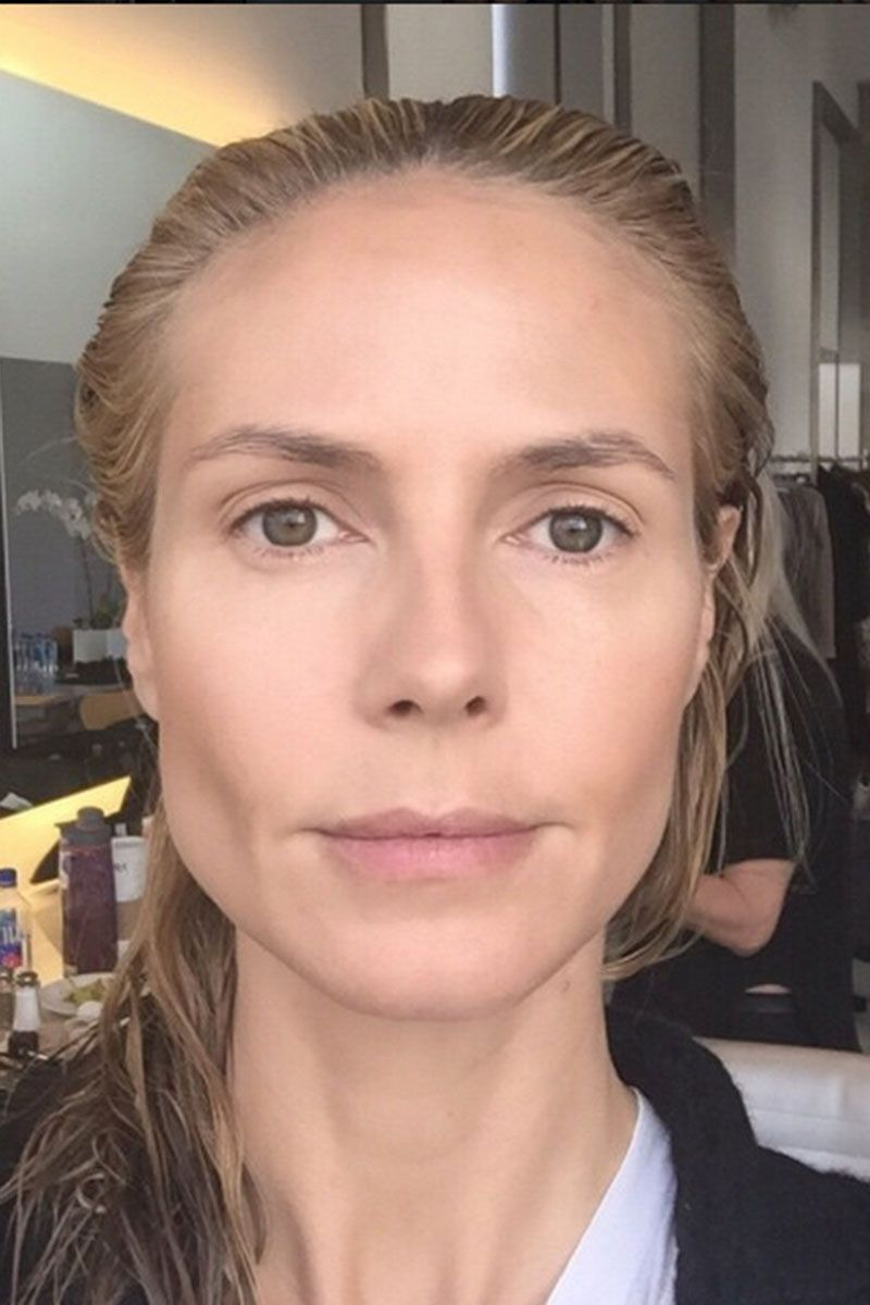 No Makeup Selfies Celebrities Taking Selfies Without Makeup - Celebrity-without-makeup
