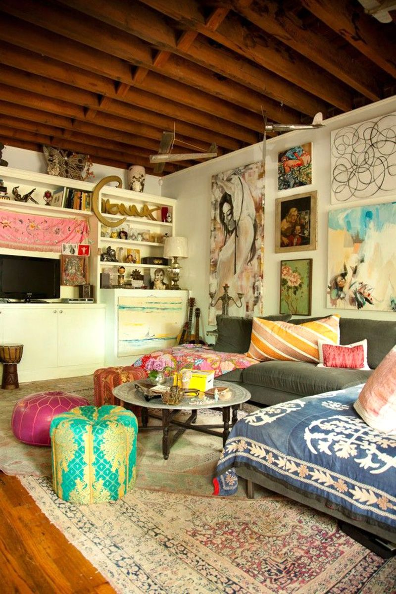 Bohemian Interior Design Trend and Ideas - Boho Chic Home Decor