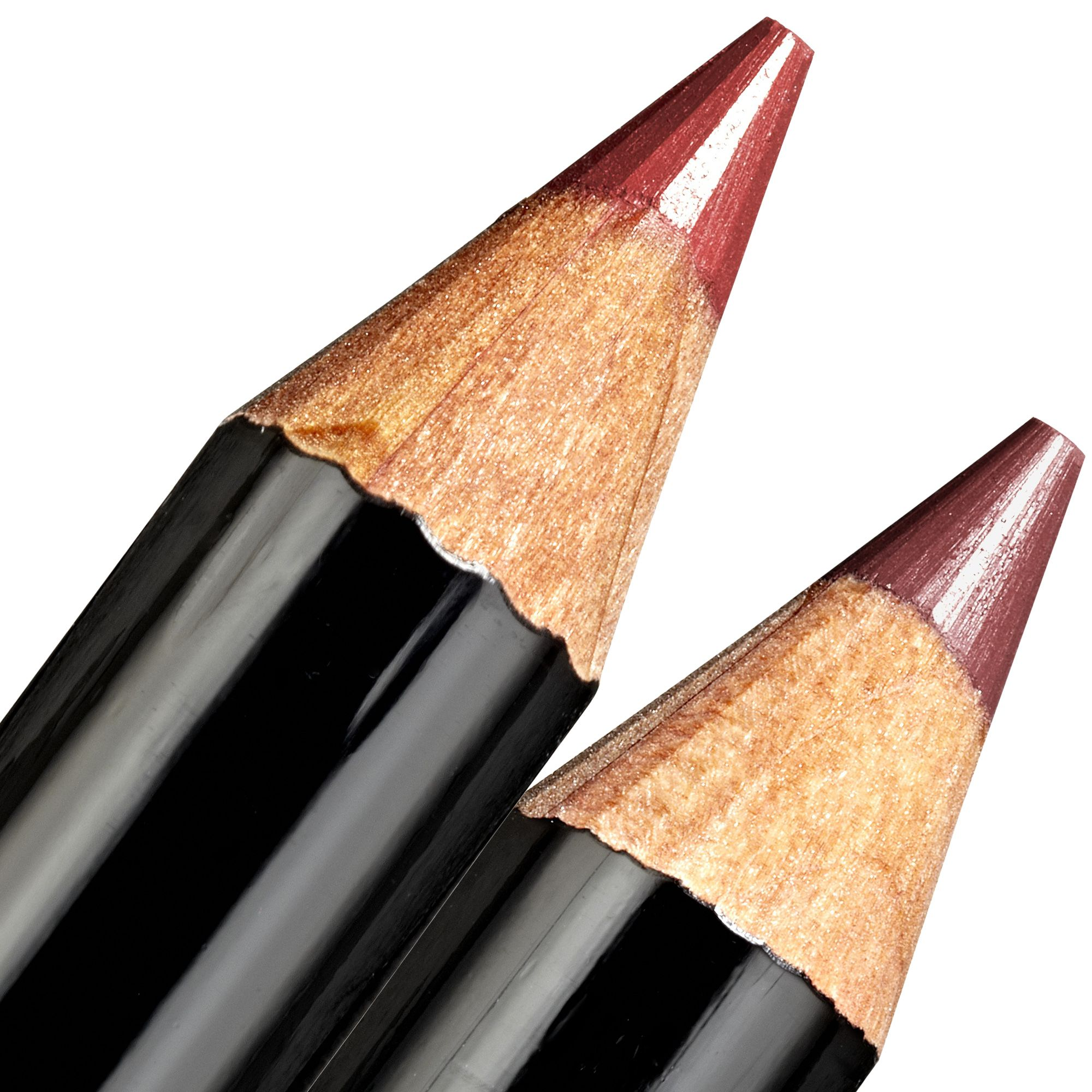 """""""I rarely wear lipstick on my days off&#x3B; I prefer to wear a lip balm and lip liner. I like Bobbi Brown lip liners in Pink Mauve or Rose."""" <strong>Bobbi Brown</strong> lip pencil in Pink Mauve and Rose, $23 each, <a target=""""_blank"""" href=""""https://www.bobbibrowncosmetics.com/product/2343/32757/Makeup/Lips/Lip-Liner/Lip-Pencil/FH14"""">bobbibrowncosmetics.com</a>."""