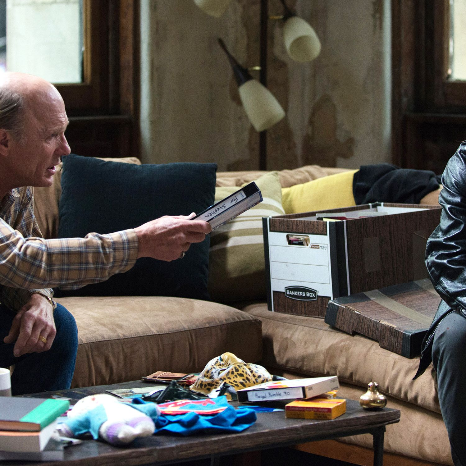 Stephen Elliott (James Franco) and Neil Elliott (Ed Harris)&#xA&#x3B;Anna Kooris&#xA&#x3B;
