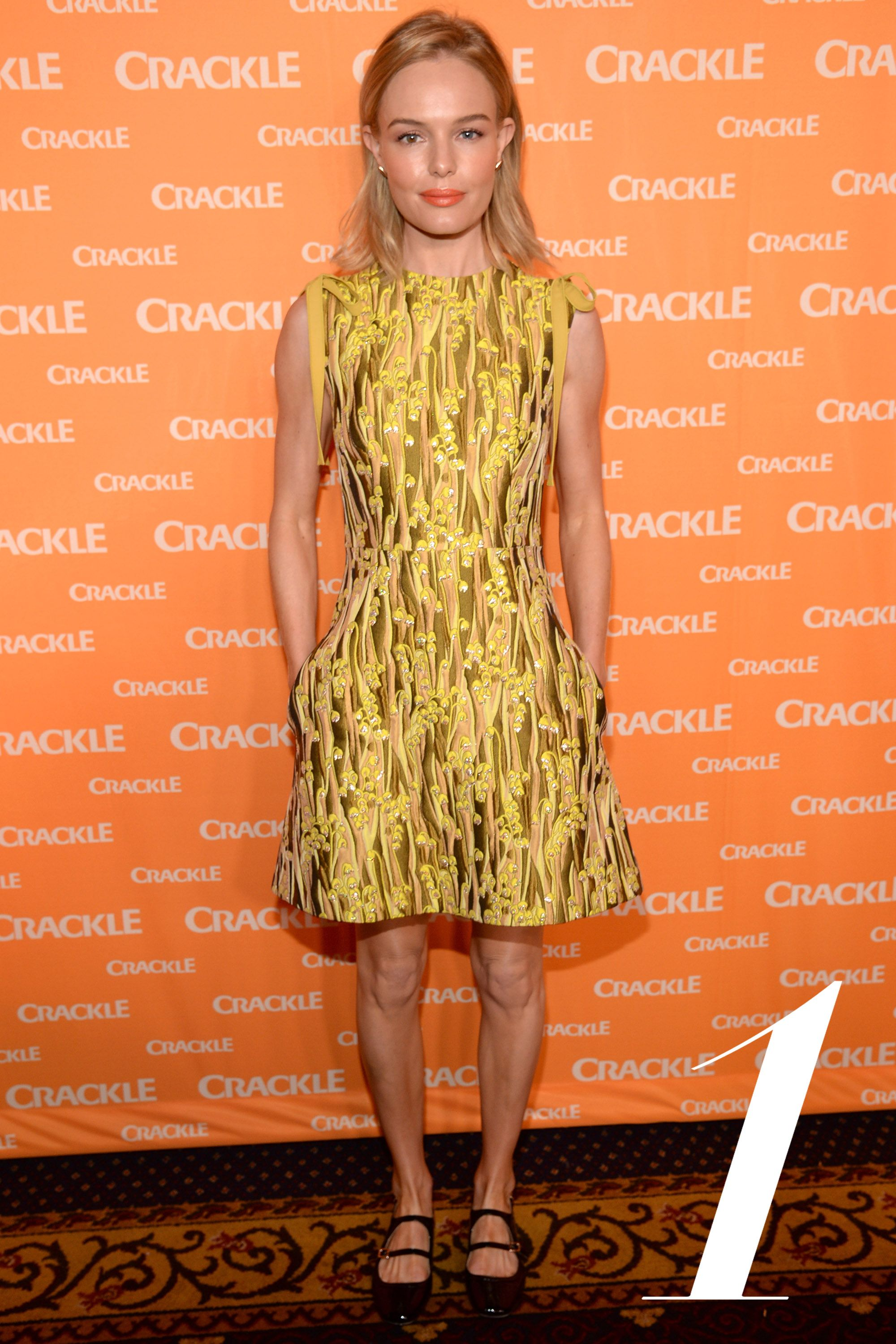 NEW YORK, NY - APRIL 14:  (Exclusive Coverage)  Kate Bosworth attends the 2015 Crackle Upfront at Hudson Theatre on April 14, 2015 in New York City.  (Photo by Kevin Mazur/Getty Images for Crackle)