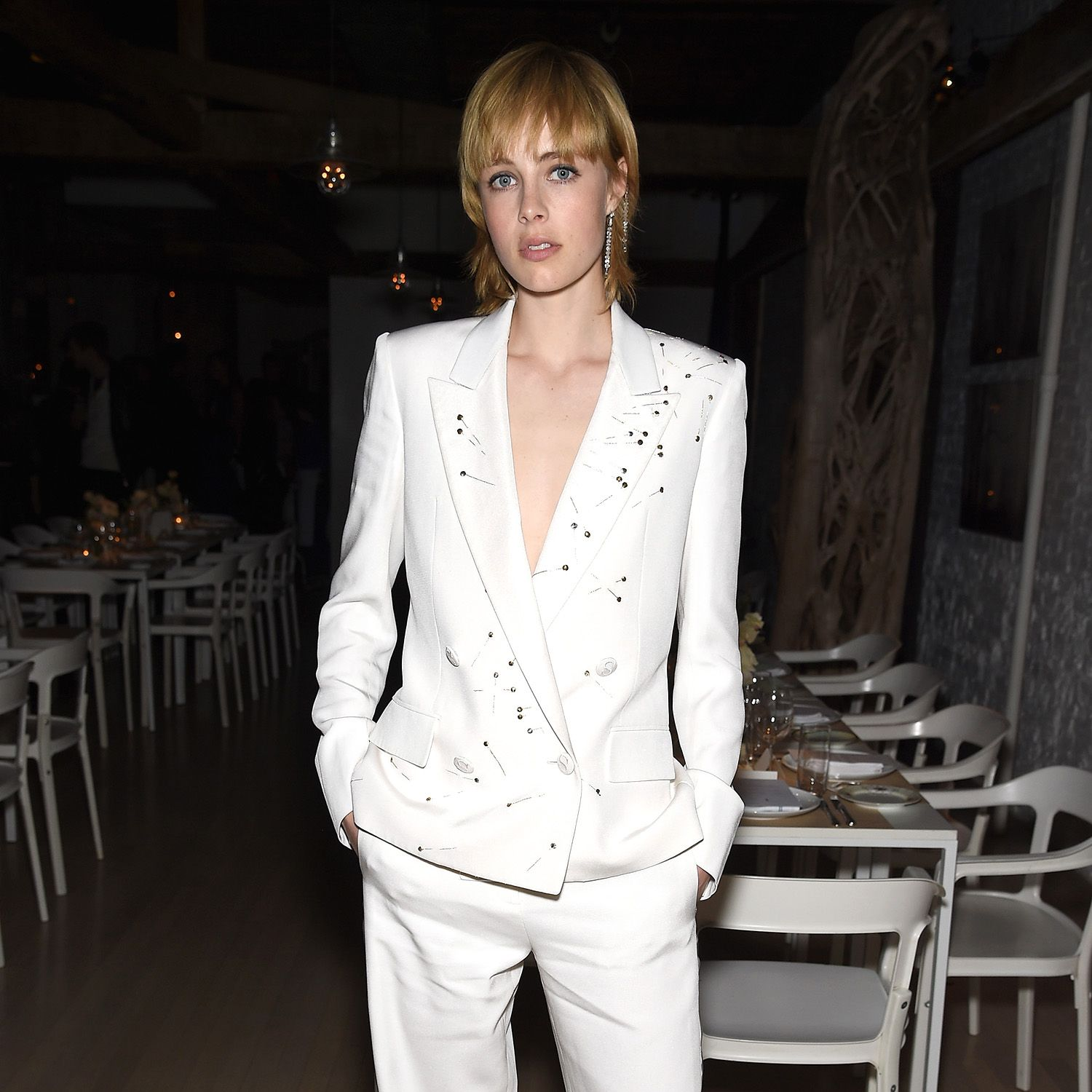 NEW YORK, NY - APRIL 15:  Model Edie Campbell attends the 2015 Tiffany Blue Book dinner on April 15, 2015 in New York City.  (Photo by Dimitrios Kambouris/Getty Images for Tiffany &amp&#x3B; Co.)
