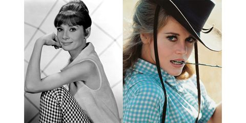 Audrey Hepburn and Jane Fonda make on-screen magic in the classic fabrication.