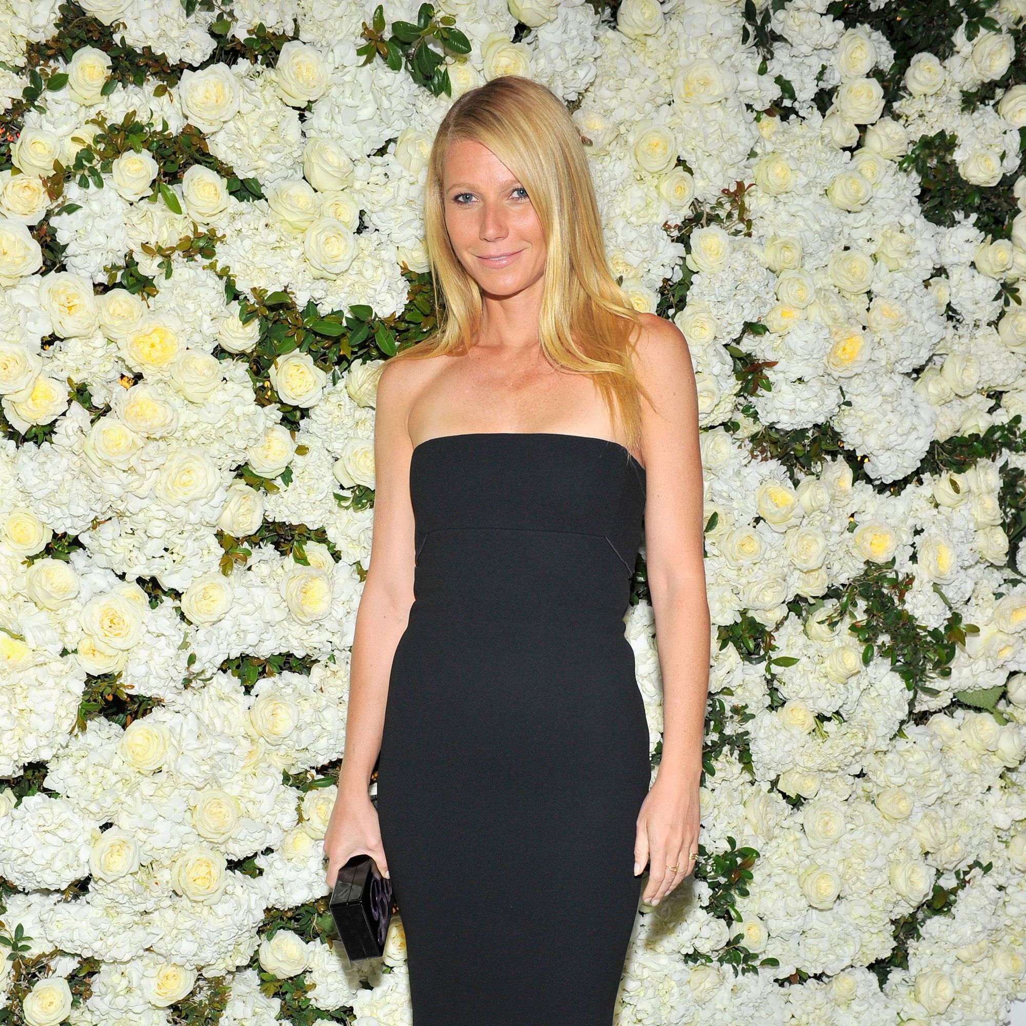 BEVERLY HILLS, CA - APRIL 14:  Actress Gwyneth Paltrow attends David And Victoria Beckham, Along With Barneys New York, Host A Dinner To Celebrate The Victoria Beckham Collection at Fred's at Barneys on April 14, 2015 in Beverly Hills, California.  (Photo by Donato Sardella/Getty Images for Barneys New York)