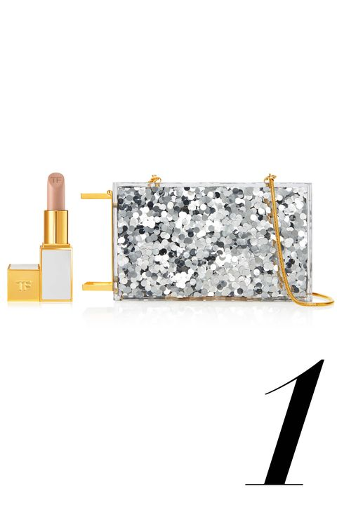 "Never has a man understood what women want so well as Tom Ford: This glittery night-out bag has a built-in holster on the side to make grabbing our most powerful weapon a swift, fumble-free move. (And, if it makes the price tag easier to swallow, <a target=""_blank"" href=""http://www.tomford.com/lip-color/T0T3.html?dwvar_T0T3_color=VANILLASUEDE#start=9"">Vanilla Suede</a> comes included.)  <strong>Tom Ford</strong> Plexi Glass Lipstick Minaudière, $3,950, <a target=""_blank"" href=""http://www.tomford.com/plexi-glass-lipstick-minaudiere-with-tubular-chain-strap/L0706T-SQP.html"">tomford.com</a>."