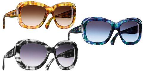 Tweed sunglasses