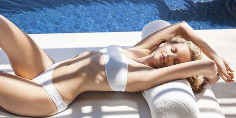 Skin, Human leg, Shoulder, Hat, Joint, Summer, Comfort, Thigh, Beauty, Undergarment,