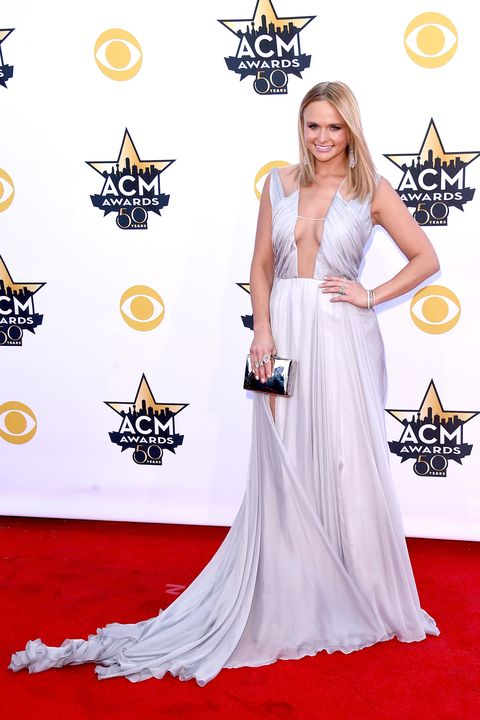 ARLINGTON, TX - APRIL 19:  Honoree Miranda Lambert attends the 50th Academy Of Country Music Awards at AT&T Stadium on April 19, 2015 in Arlington, Texas.  (Photo by Jason Merritt/Getty Images)