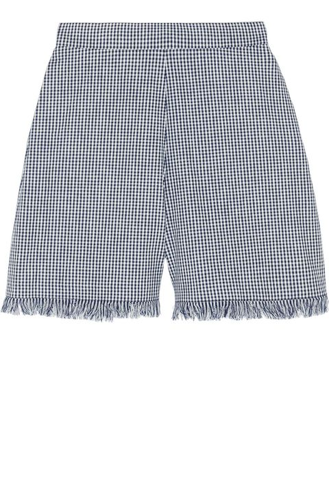 "<strong>Chloé</strong> shorts, $950, <a target=""_blank"" href=""http://www.net-a-porter.com/product/511444/Chloe/gingham-cotton-shorts#"">net-a-porter.com</a>."