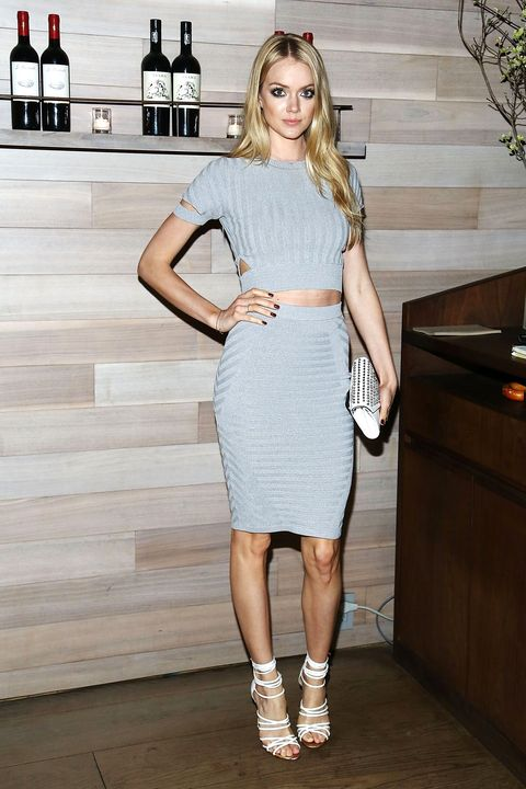 """NEW YORK, NY - APRIL 22:  Model Lindsay Ellingson attends Lionsgate & Roadside attractions after party for the Tribeca Film Festival world premiere of """"Maggie"""" at Tutto II Giorno on April 22, 2015 in New York City.  (Photo by Astrid Stawiarz/Getty Images)"""