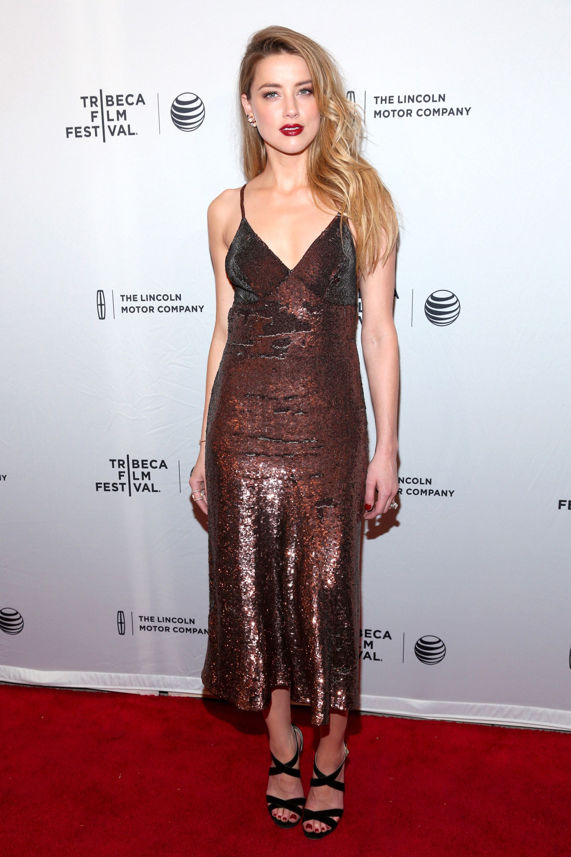 "NEW YORK, NY - APRIL 18:  Amber Heard attends the premiere of ""When I Live My Life Over Again"" during the 2015 Tribeca Film Festival at the SVA Theater on April 18, 2015 in New York City.  (Photo by Rob Kim/Getty Images for the 2015 Tribeca Film Festival)"