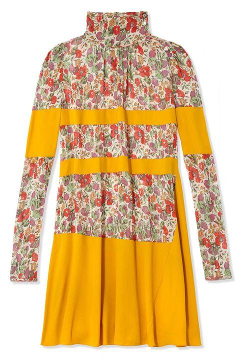 "<em>Sonia Rykiel dress, $1,760, <a target=""_blank"" href=""http://shop.harpersbazaar.com/designers/sonia-rykiel/honesty-dress/"">ShopBAZAAR.com.</a></em>"