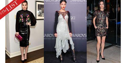 Clothing, Leg, Dress, Shoulder, Outerwear, Style, Fashion model, Fashion, Neck, Waist,