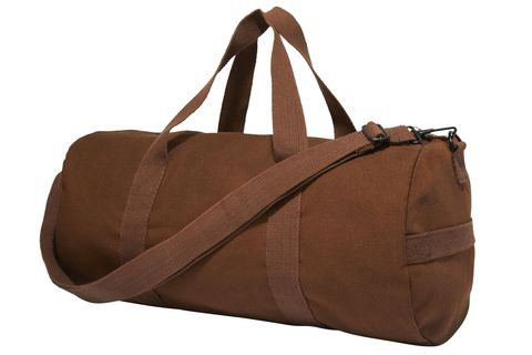 """My army surplus duffel. I've had it forever.""  <strong>Uncle Sam's Army Navy Outfitters </strong>bag, $22.95, similar styles available at <a target=""_blank"" href=""http://www.armynavydeals.com/asp/Default.asp?"">armynavydeals.com</a>."