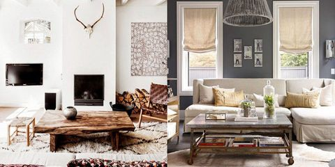 Interior Design Inspiration: Rustic Chic