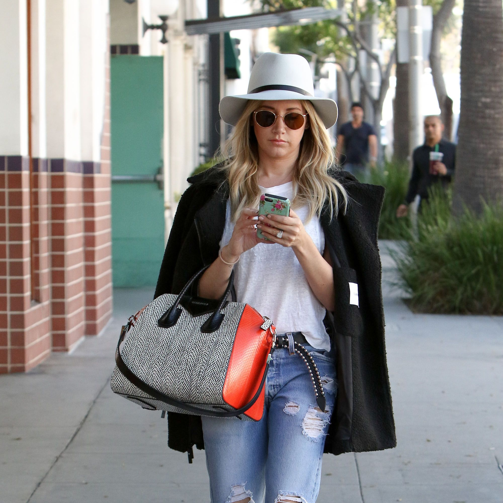 LOS ANGELES, CA - MARCH 12: Ashley Tisdale is seen in Beverly Hills on March 12, 2015 in Los Angeles, California.  (Photo by Bauer-Griffin/GC Images)