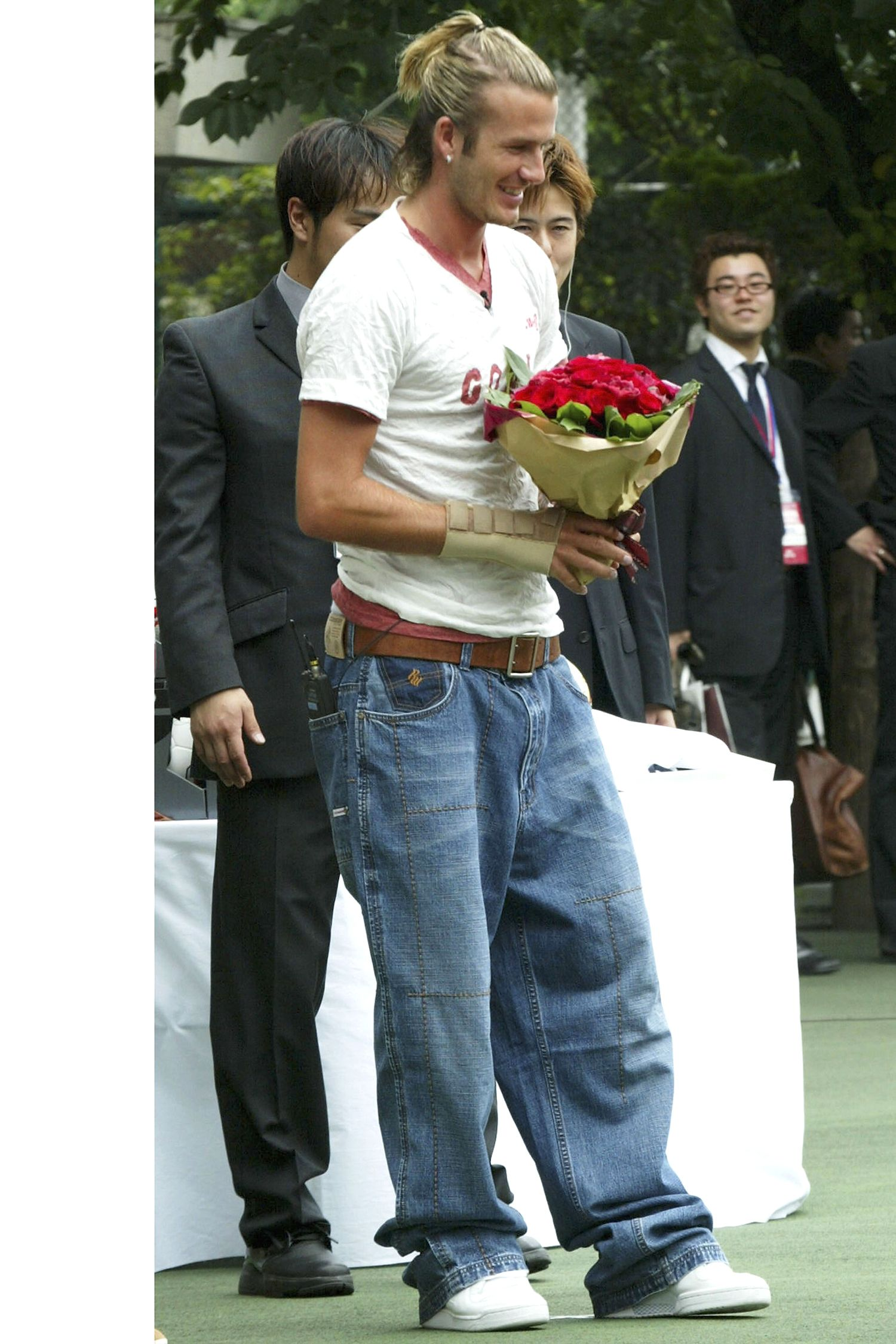 David Beckham S Style Transformation Over The Years Photos