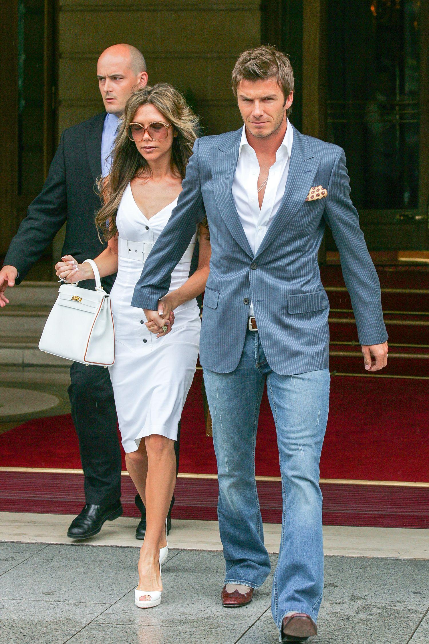 David Beckham\'s Style Transformation Over the Years - David Beckham ...