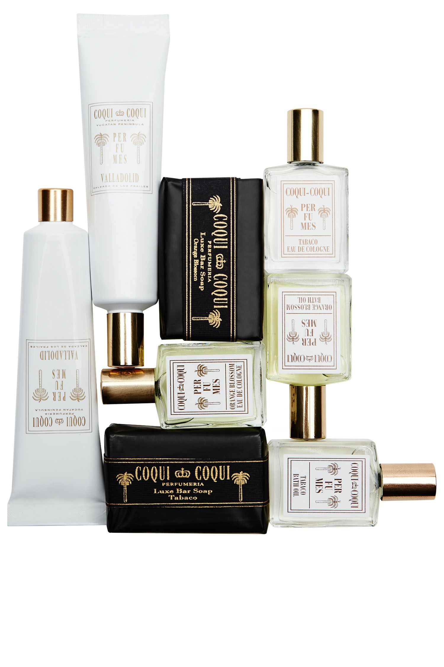 "Upon check-in at <a target=""_blank"" href=""http://www.coquicoquiperfumes.com/"">Coqui Coqui</a>, a remote, luxury destination hotel for A-listers and the fashion set, guests receive a gift box of personalized fragrances, soaps and creams—handmade in a small lab in the mythical town of Valladolid."