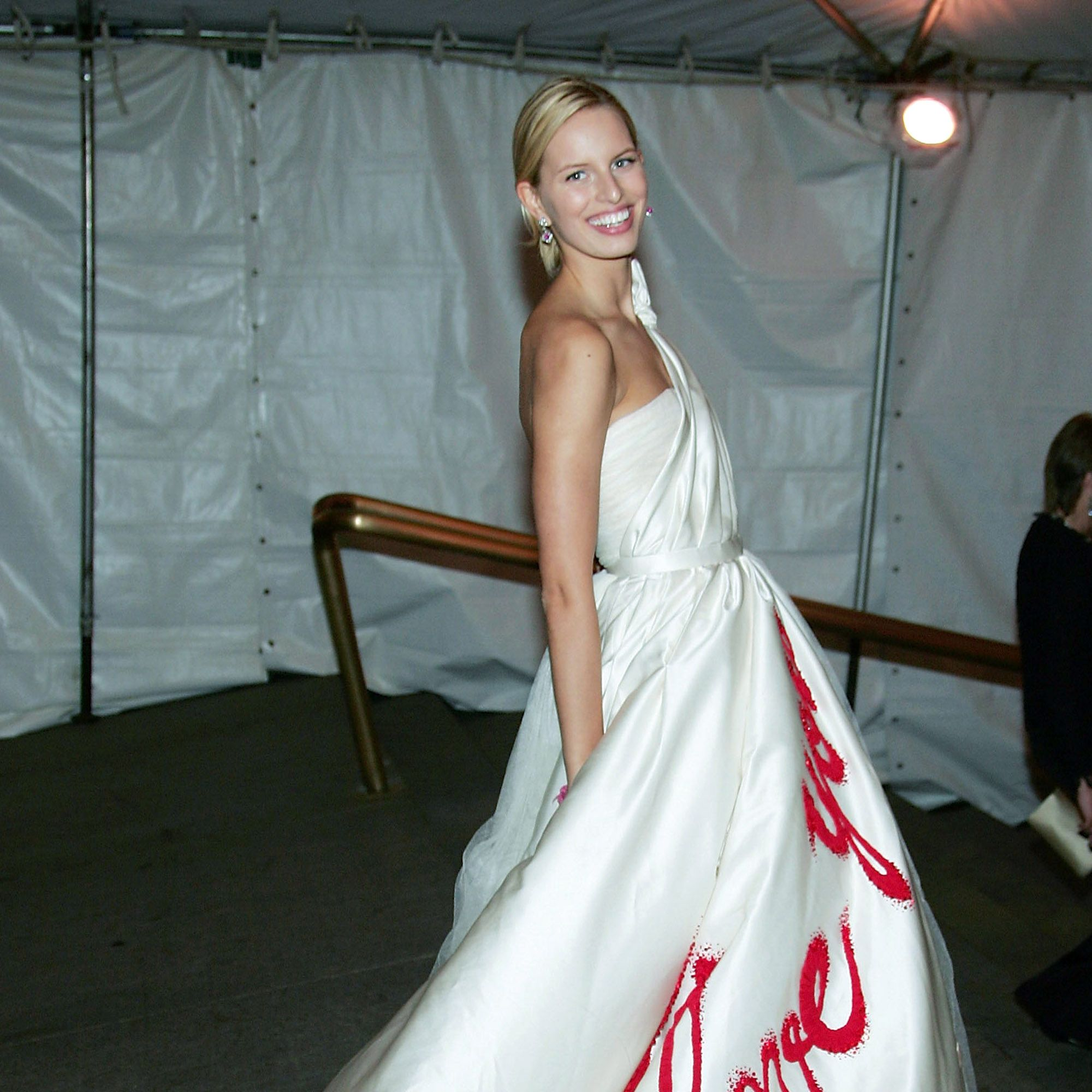 NEW YORK - MAY 02:  Model Karolina Kurkova attends the MET Costume Institute Gala Celebrating Chanel at the Metropolitan Museum of Art May 2, 2005 In New York City. (Photo by Evan Agostini/Getty Images) *** Local Caption *** Karolina Kurkova
