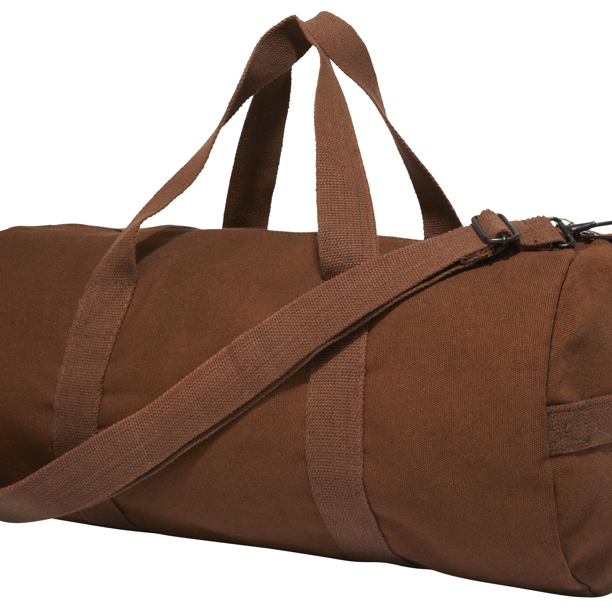 """My army surplus duffel. I've had it forever.""