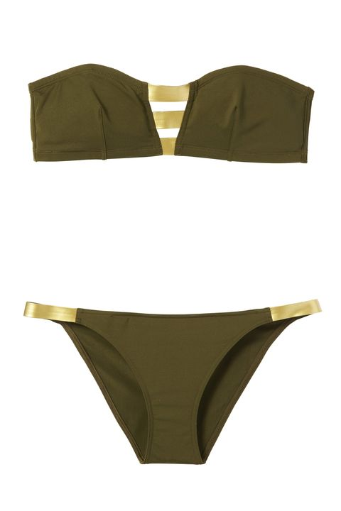 <strong>Eres</strong> bikini top, $275, and bottom, $195, 888-865-ERES.