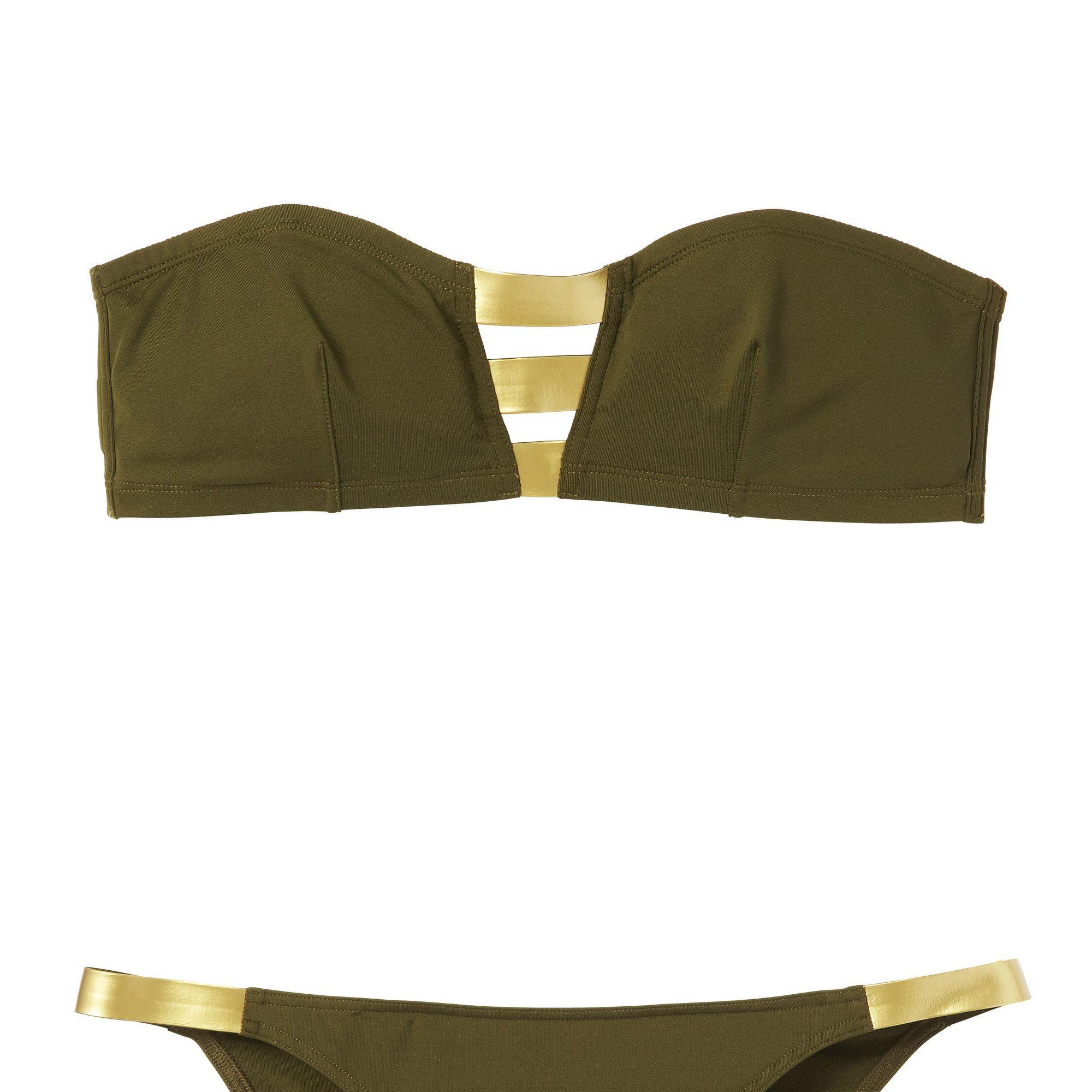 <strong>Eres</strong> bikini top, $275, and bottom, $195, 888-865-ERES.
