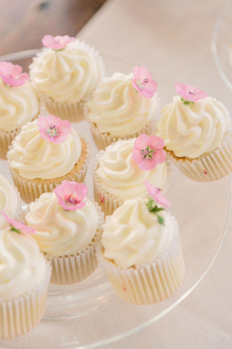 Prettiest Wedding Cupcakes