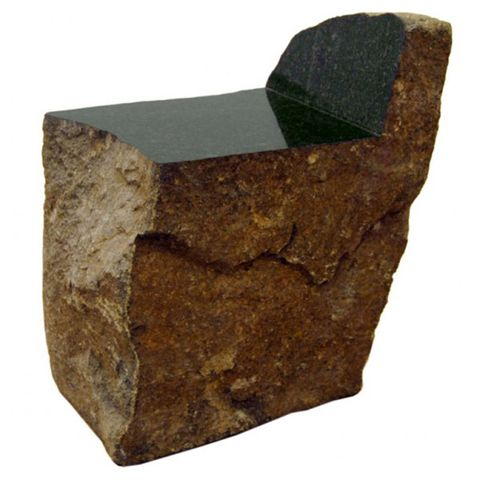 """My <a target=""_blank"" href=""http://maxlamb.org/"">Max Lamb</a> granite chair is so simple yet timeless and beautiful."""