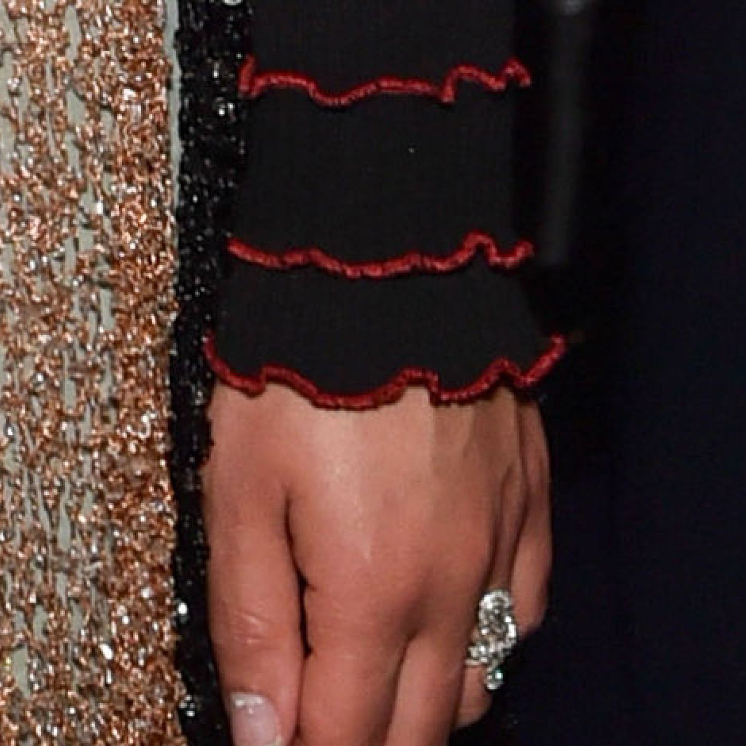 Mandatory Credit: Photo by Nick Harvey/REX Shutterstock (2699598bd)&#xA&#x3B;FKA Twigs with a ring on her wedding finger&#xA&#x3B;Swarovski Crystal World reopening evening gala, Wattens, Austria - 28 Apr 2015&#xA&#x3B;&#xA&#x3B;