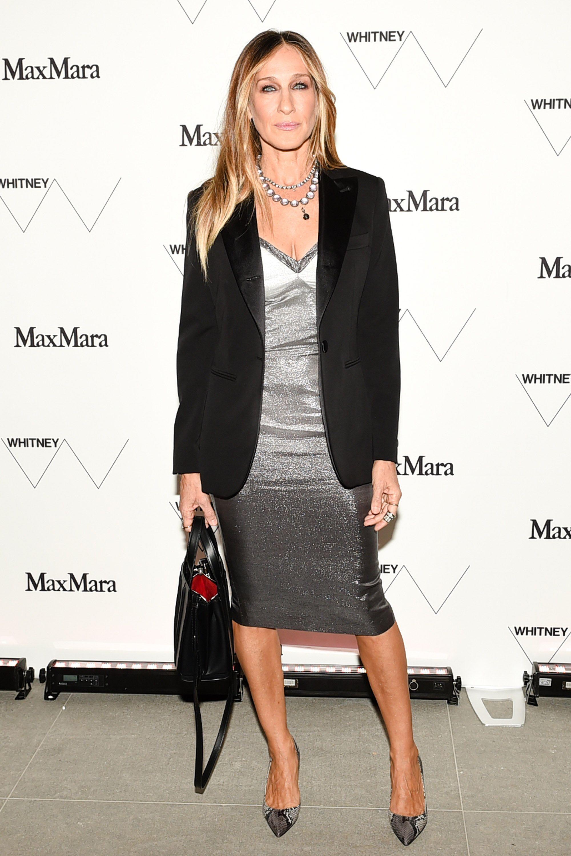 (wearing Max Mara), Sarah Jessica Parker