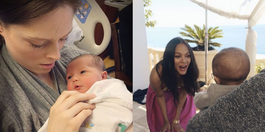 10 Celebrity Moms Celebrating Their First Mother's Day