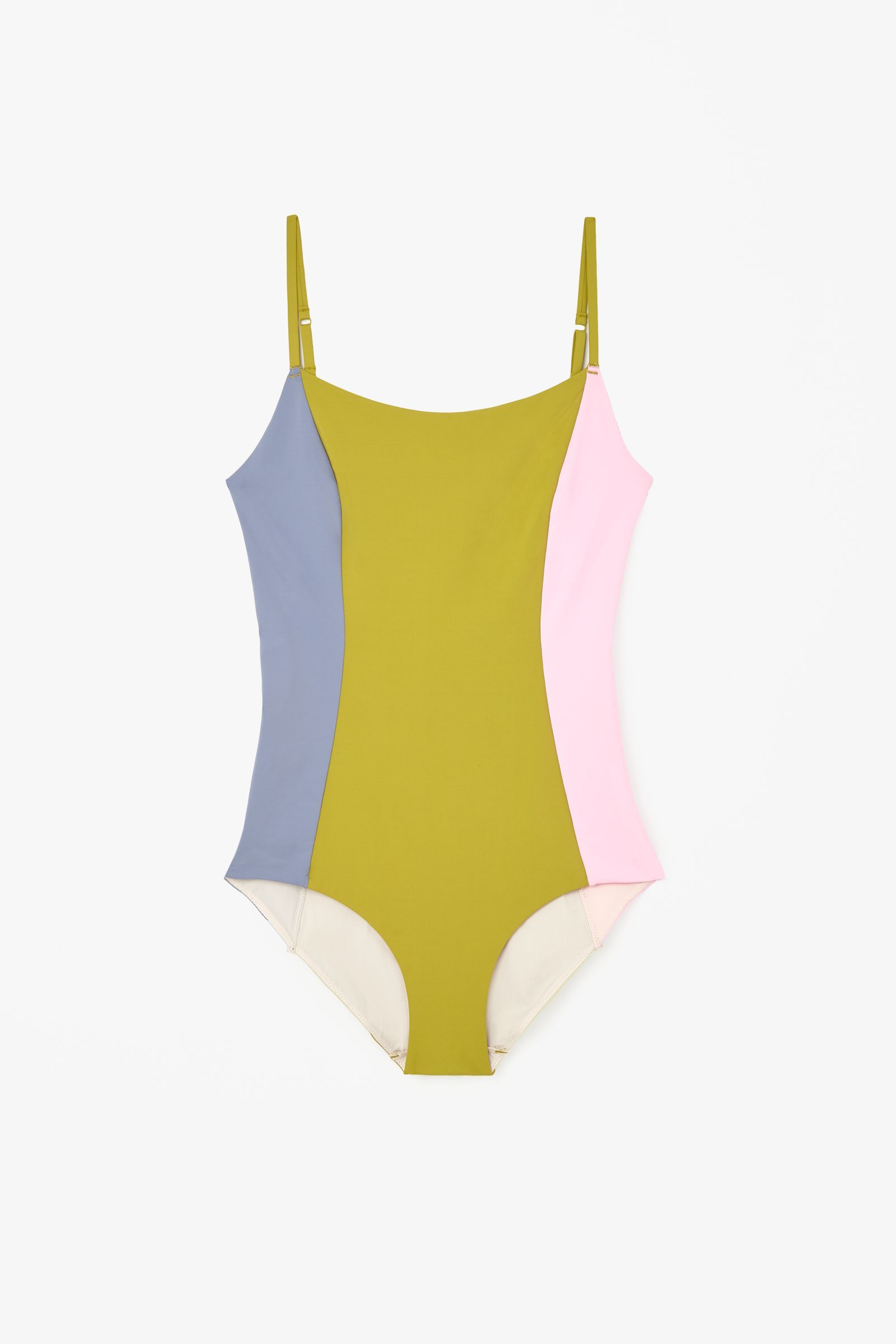 "<strong>COS </strong>swimsuit, $69, <a target=""_blank"" href=""http://www.cosstores.com/us/Women/Swimwear/Block-colour_swimsuit/46893-16633608.1#c-15133331"">cosstores.com</a>."