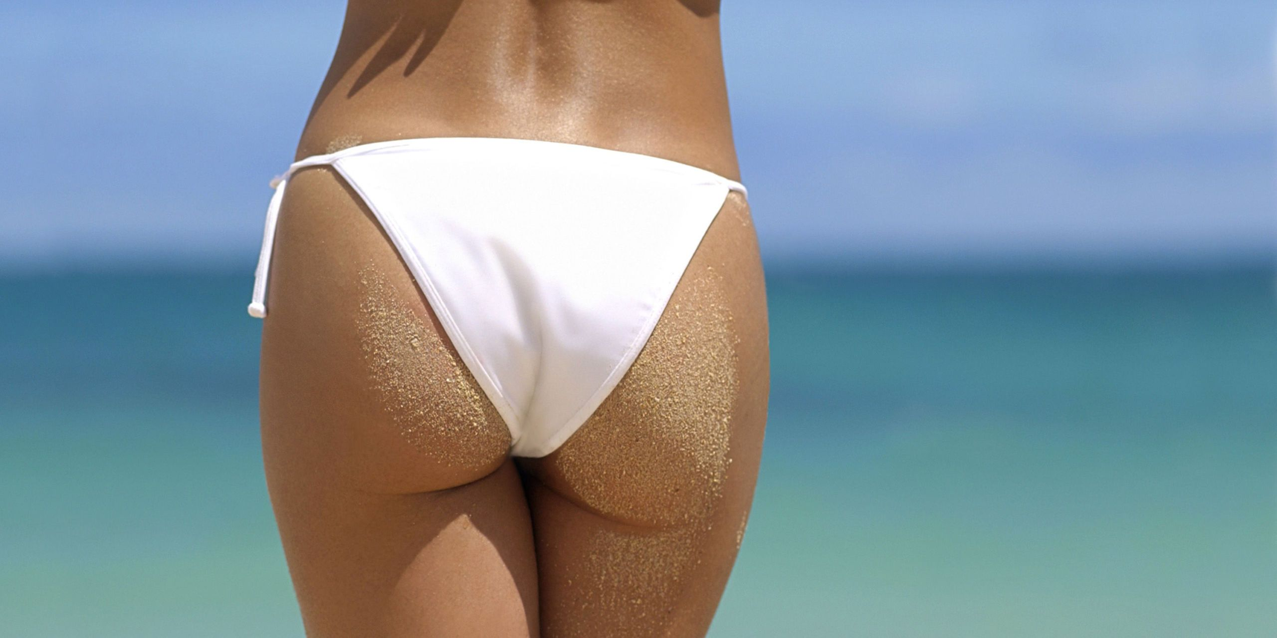 Ass bikini butt community tanning type