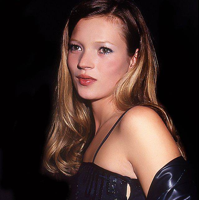 Kate Moss, Council of Fashion Designers of America Awards, Lincoln Center, New York, New York, 1994. (Photo by Rose Hartman/Getty Images)