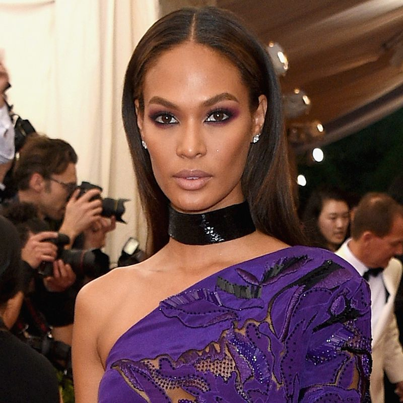 "NEW YORK, NY - MAY 04:  Joan Smalls attends the ""China: Through The Looking Glass"" Costume Institute Benefit Gala at the Metropolitan Museum of Art on May 4, 2015 in New York City.  (Photo by Larry Busacca/Getty Images)"