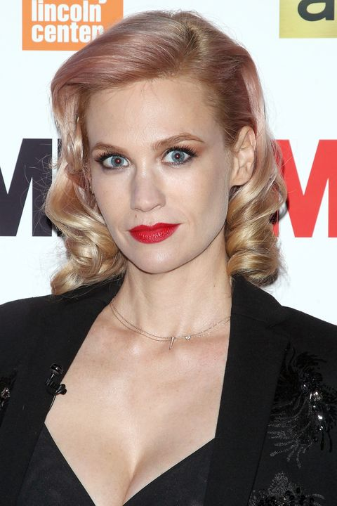 """NEW YORK, NY - MARCH 21:  Actress January Jones attends the """"Mad Men"""" special screening at The Film Society of Lincoln Center on March 21, 2015 in New York City.  (Photo by Jim Spellman/WireImage)"""