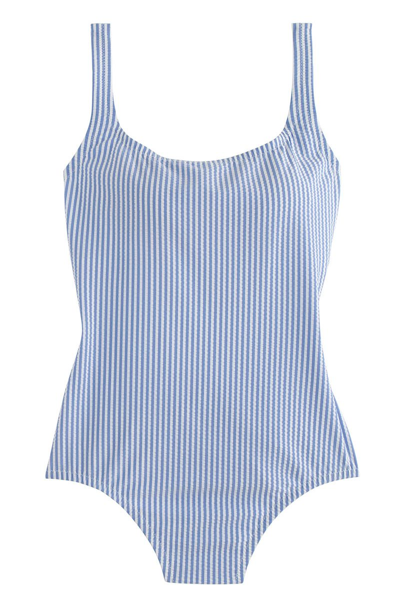 "<strong>J. Crew</strong> swimsuit, $98, <a target=""_blank"" href=""https://www.jcrew.com/womens_feature/NewArrivals/swim/PRD~C4609/C4609.jsp?styles=C4609-WP0020"">jcrew.com</a>."