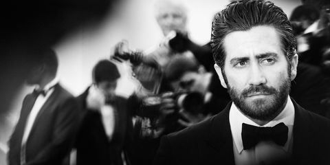 Hairstyle, Collar, Dress shirt, Facial hair, Outerwear, Formal wear, Style, Coat, Bow tie, Jaw,