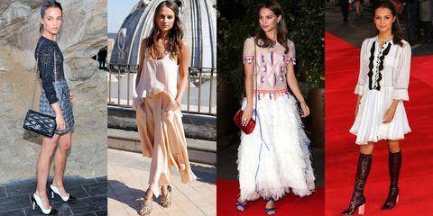 Clothing, Footwear, Dress, Style, Fashion accessory, Fashion, Youth, Fashion model, Street fashion, Carpet,