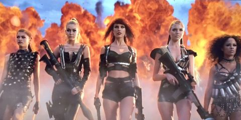 """Sex Shop Lent Taylor Swift $13,000 Worth of Clothes for """"Bad Blood"""""""