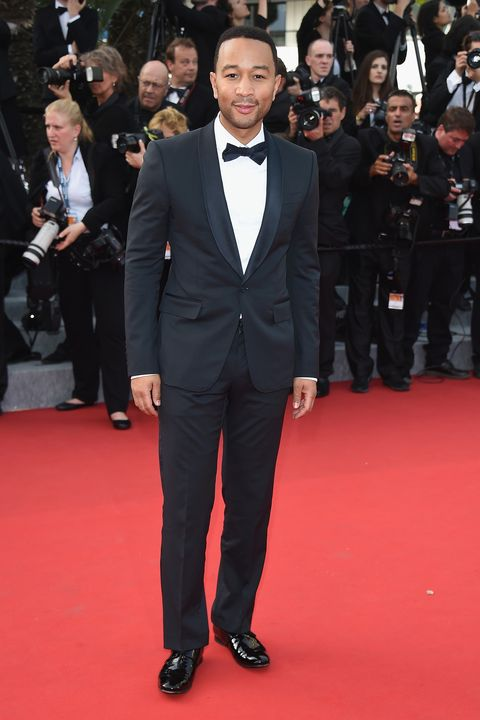 "CANNES, FRANCE - MAY 13:  Singer John Legend attends the opening ceremony and premiere of ""La Tete Haute (""Standing Tall"") during the 68th annual Cannes Film Festival on May 13, 2015 in Cannes, France.  (Photo by Venturelli/WireImage)"