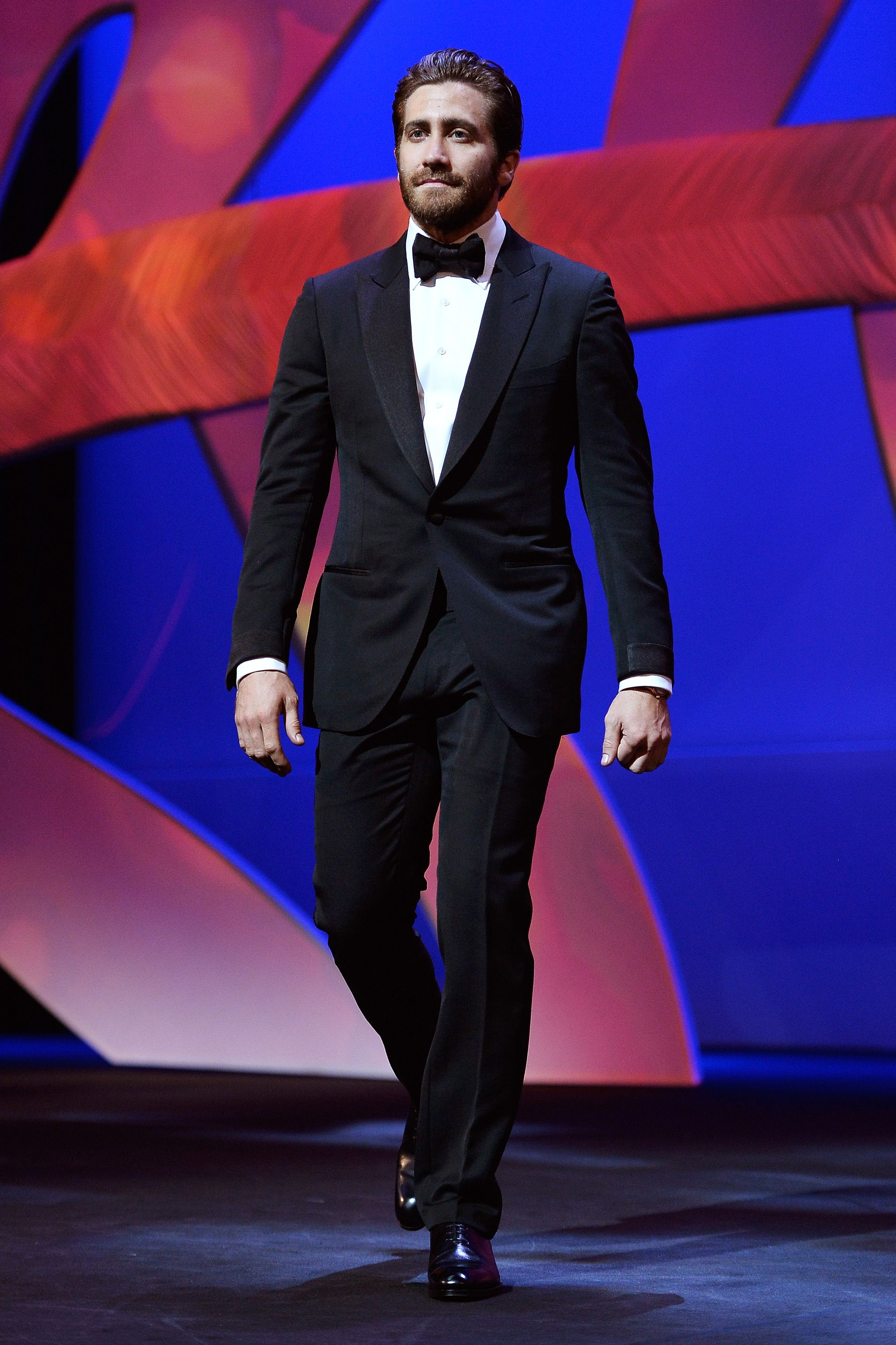 CANNES, FRANCE - MAY 13:  Jake Gyllenhaal during the Opening Ceremony of the 68th annual Cannes Film Festival on May 13, 2015 in Cannes, France.  (Photo by Pascal Le Segretain/Getty Images)
