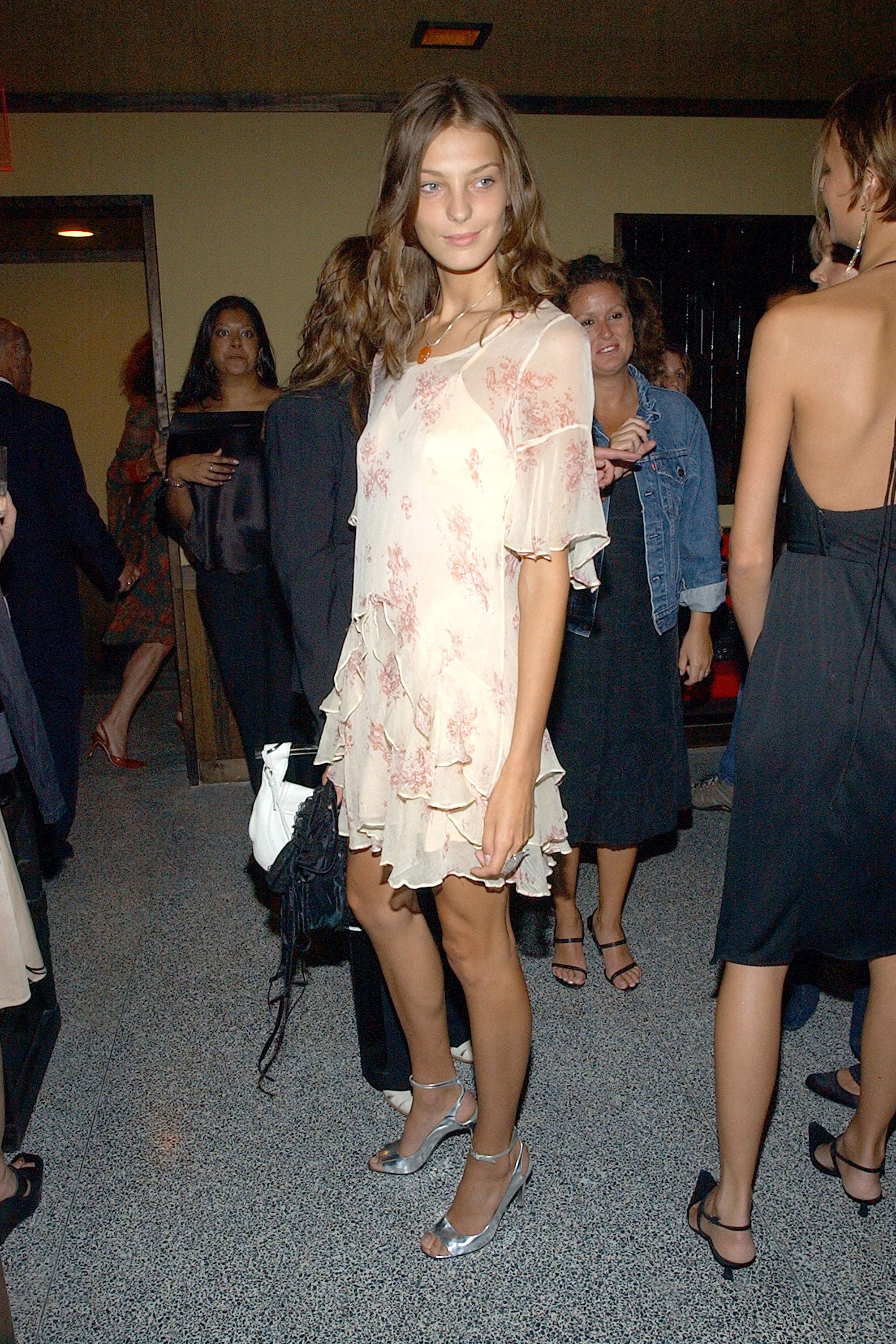Daria Werbowy at the W Magazine party for Kate Moss (Photo by Dimitrios Kambouris/WireImage for W Magazine - DO NOT USE - GO TO WWD)