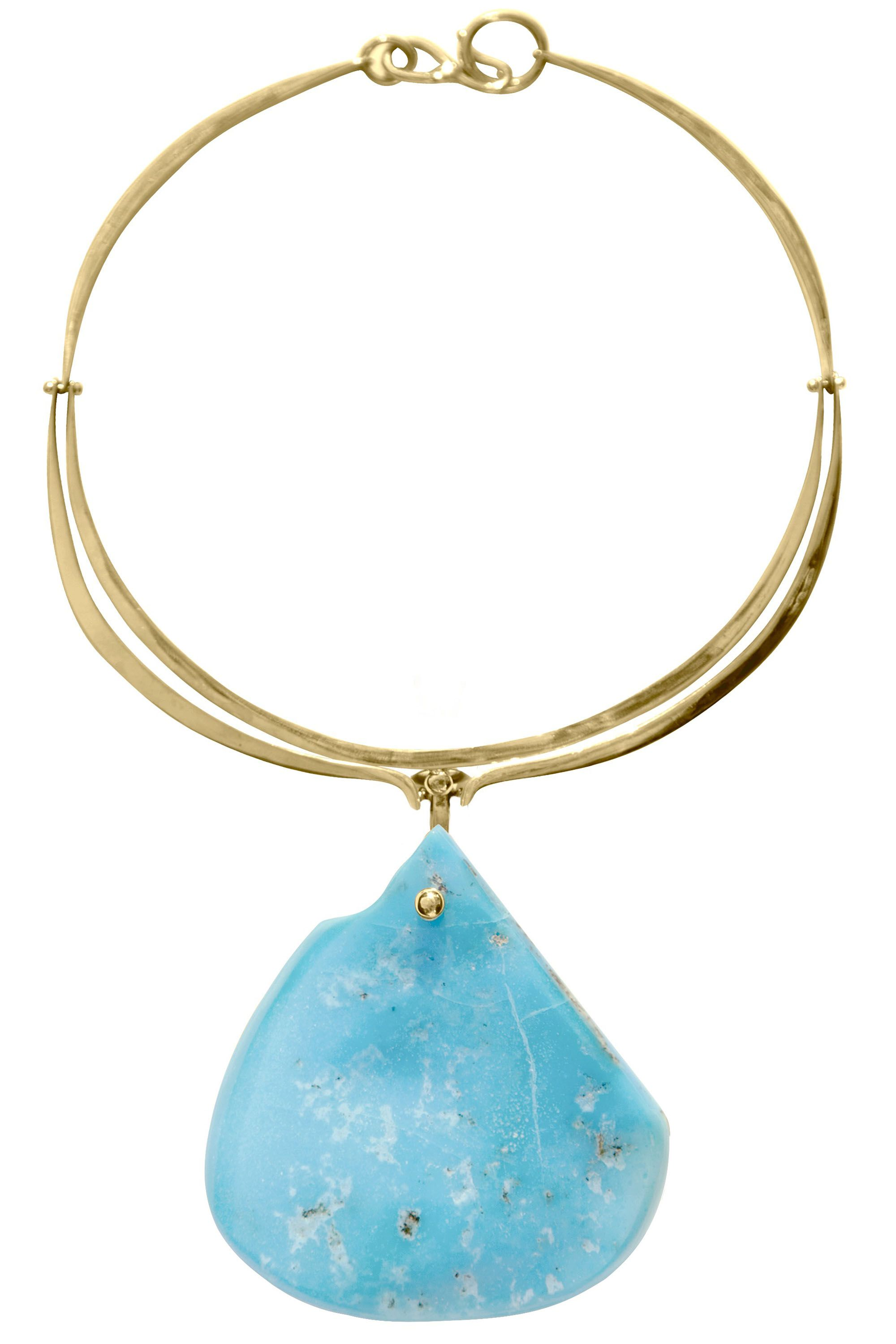 <em>Lisa Eisner Jewelry necklace, $5,000, Maxfield, L.A., 310-274-8800. </em>