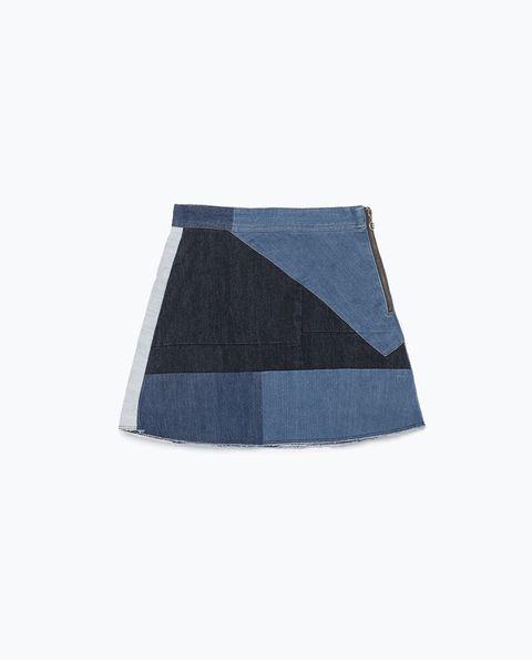 """<!--StartFragment-->Zara Patchwork Miniskirt, $60; <a target=""""_blank"""" href=""""http://www.zara.com/us/en/woman/skirts/mini/patchwork-miniskirt-c401023p2634014.html"""">zara.com</a>   <!--EndFragment-->"""