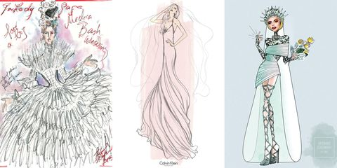 34 Designers Envision Lady Gaga's Wedding Gown, Plus More News!
