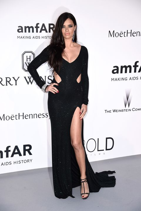 CAP D'ANTIBES, FRANCE - MAY 21: Model Adriana Lima attends amfAR's 22nd Cinema Against AIDS Gala, Presented By Bold Films And Harry Winston at Hotel du Cap-Eden-Roc on May 21, 2015 in Cap d'Antibes, France.  (Photo by Ian Gavan/Getty Images)